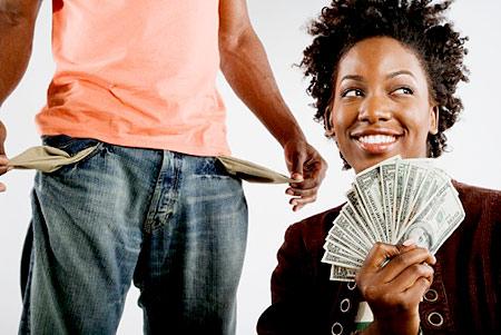 breadwinner-woman-cash-bills-money