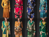 Lust List: Burberry Vintage Book Print Trench Coats