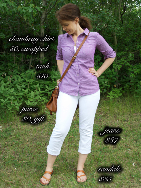 cassie_the-minute-glass_Outfit-2_Purple-Chambray