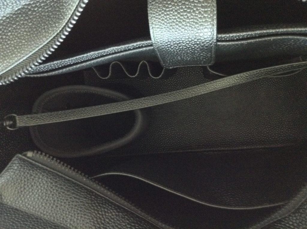 dagne-dover-onyx-black-stingray-15-inch-tote-inside