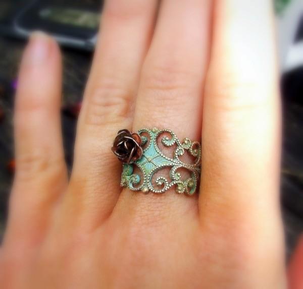 giveaway-save-spend-splurge-verdigris-copper-rose-ring-3