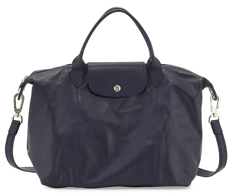 navy-leather-longchamp-pliage