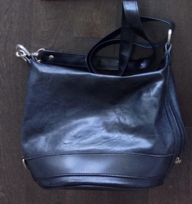 navy-leather-thrifted-bucket-bag