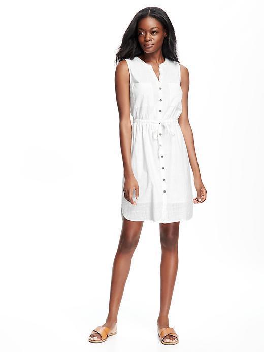 old-navy-white-shirtdress
