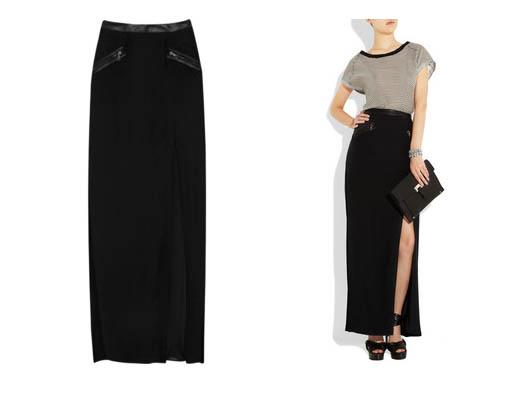 rag-and-bone-ashton-trimmed-leather-maxi-skirt