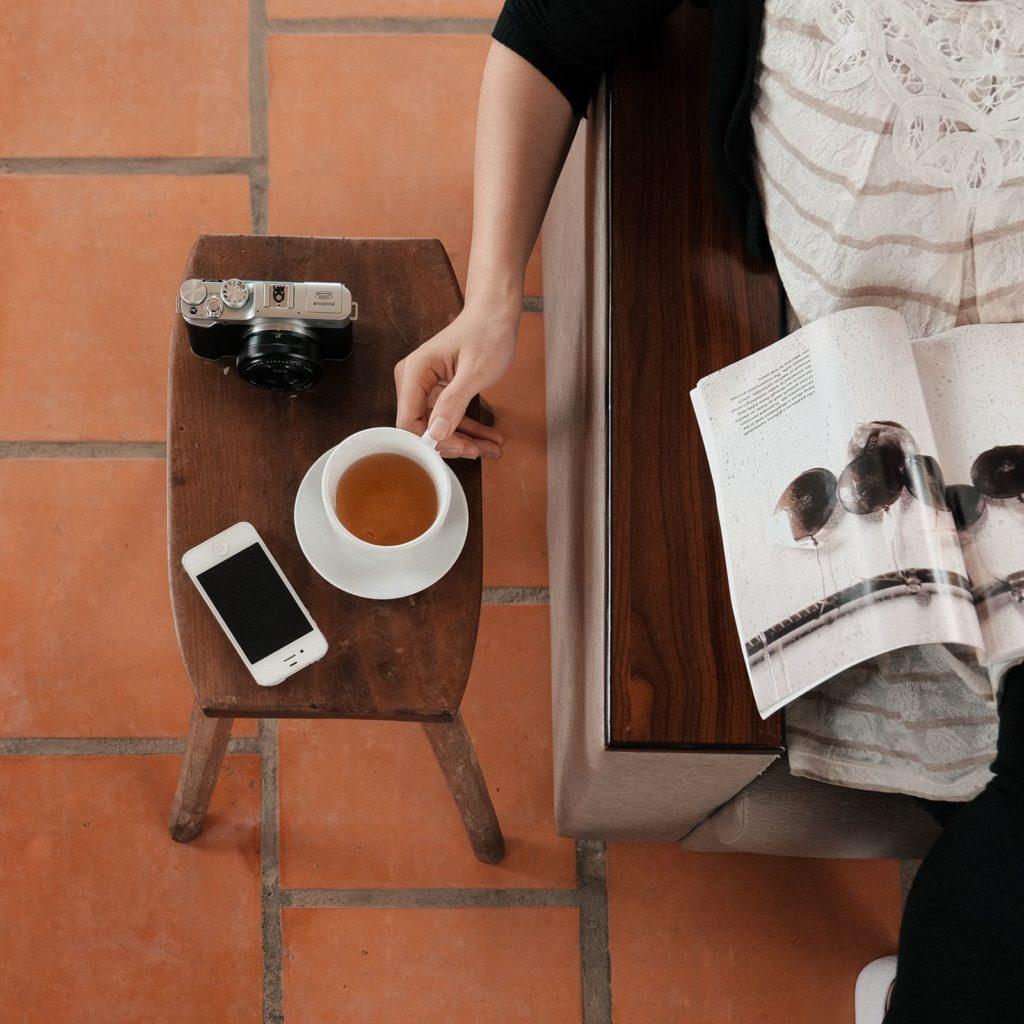 read-tea-drink-zen-life-relax-home
