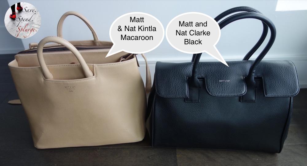 save-spend-splurge-review-matt-and-nat-dwell-collection-clarke-bag-black-kintla-macaroon-size-comparison