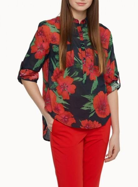 simons-wildflower-voile-blouse-long