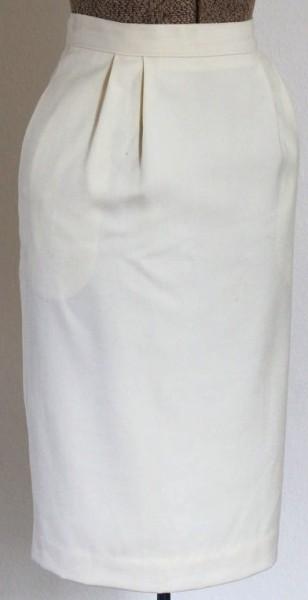 sonnetandbough-cream-pencil-skirt-wool-vanille-1970-1