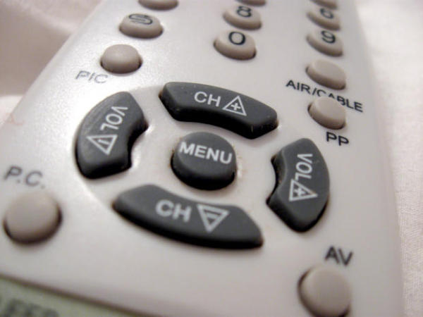 stock-television-remote-control-tv