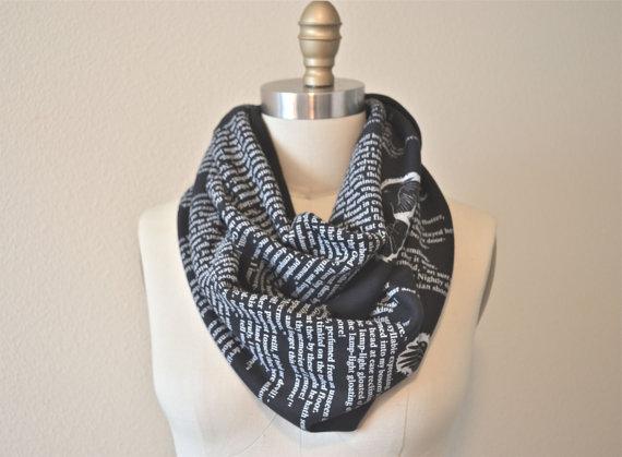 storiarts-raven-story-scarf-cotton