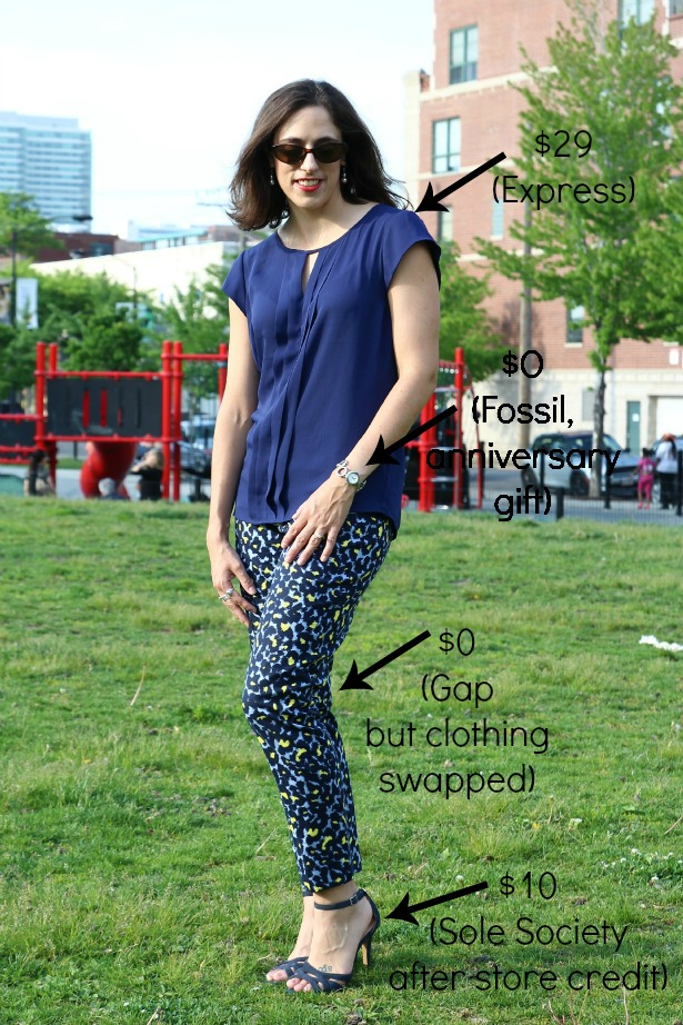 style-bloggers-erin-loop-looks-floral-pants-navy-shirt