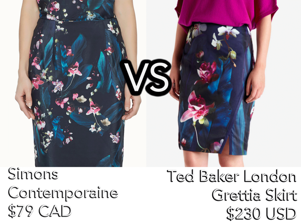 style-spy-simons_contemporaine_bright-flower-versus-ted-baker-london-grettia-skirt-lookalike