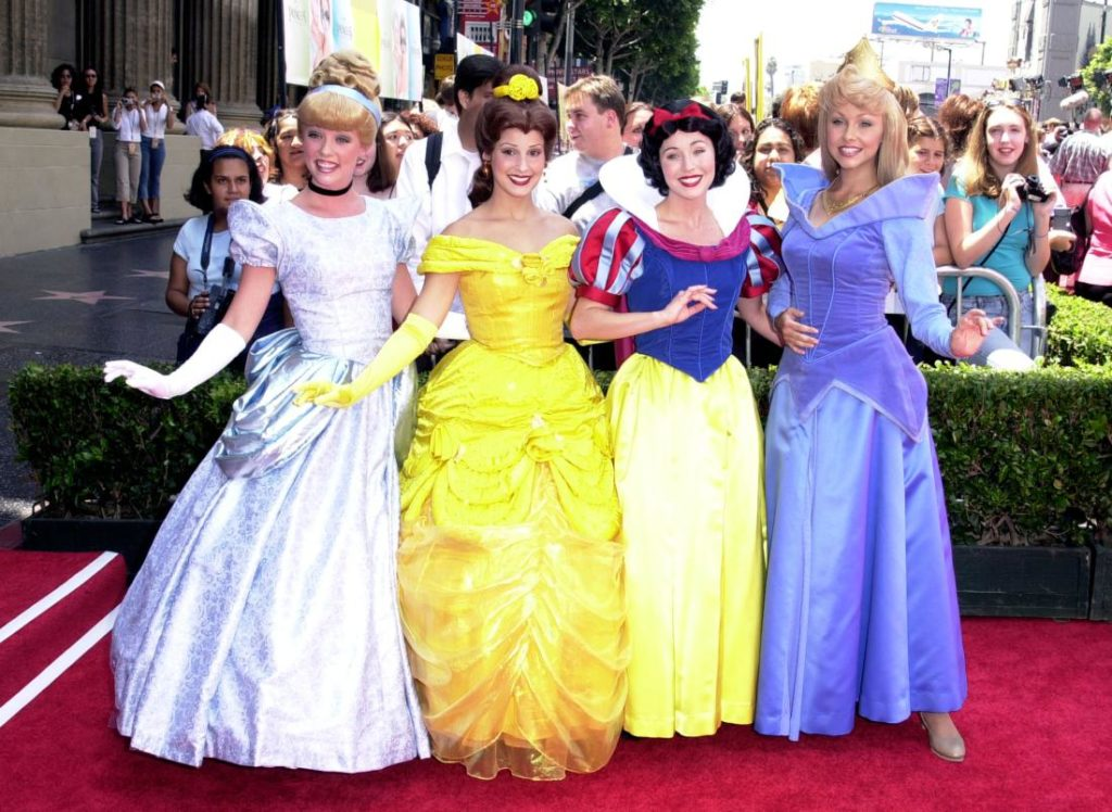 Disney Characters during The Princess Diaries Premiere at El Capitan Theatre in Hollywood, California, United States. (Photo by SGranitz/WireImage)