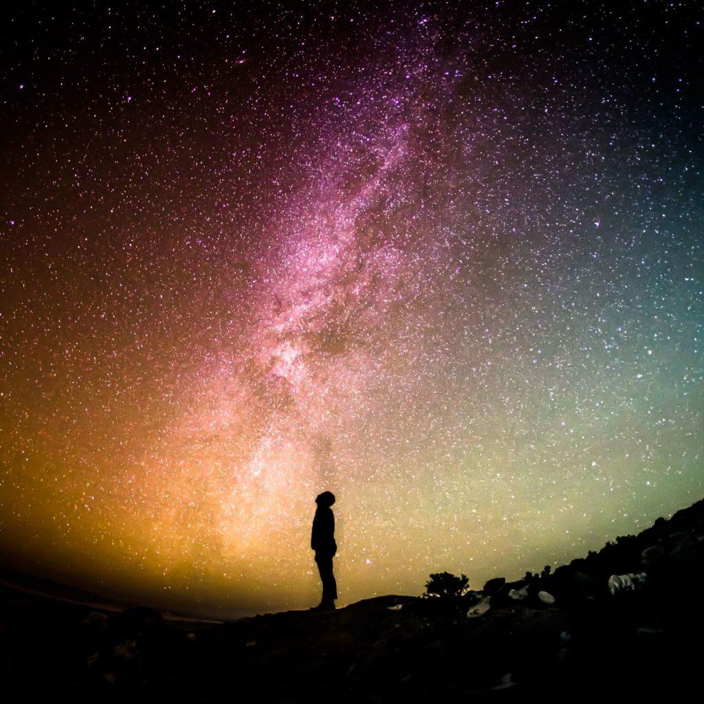 Поэтому увидеть падающие звезды красоты ослепительной