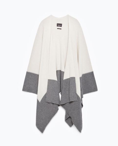 zara-grey-cream-two-tone-poncho